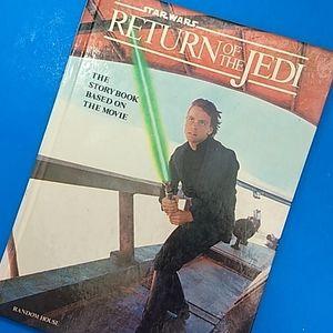 Star Wars Return of the Jedi storybook VTG 83